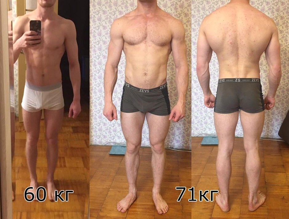 Сустанон и болденон: фото до и после