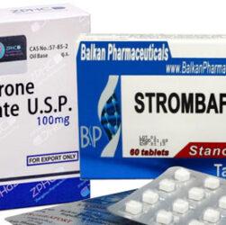 Станозолол и тестостерон пропионат