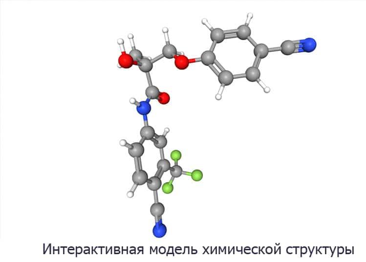 Остарин (модель, структура)